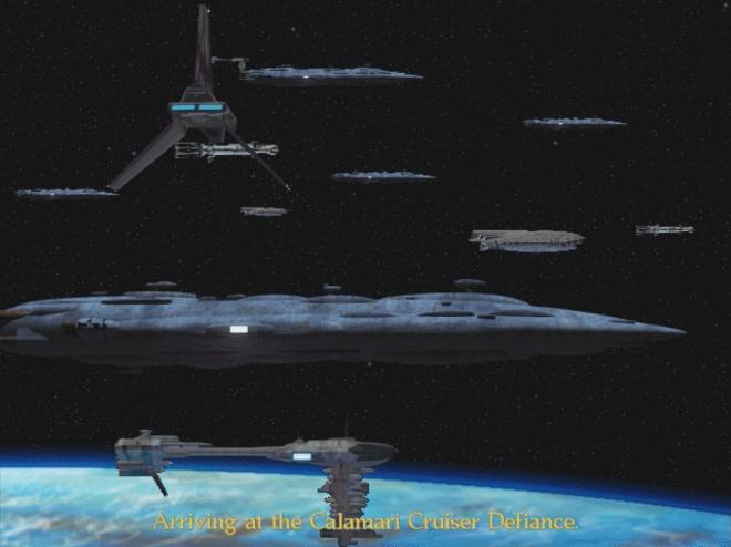 Transition cutscene