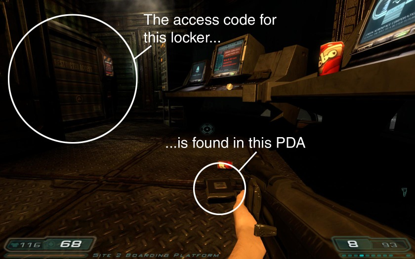 What's the point of the access code? Why not just give me the ammo?