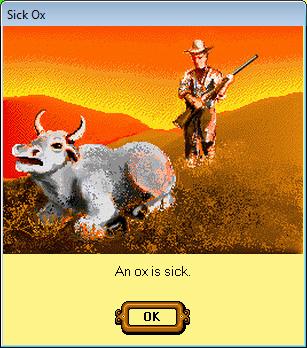 Sick Ox