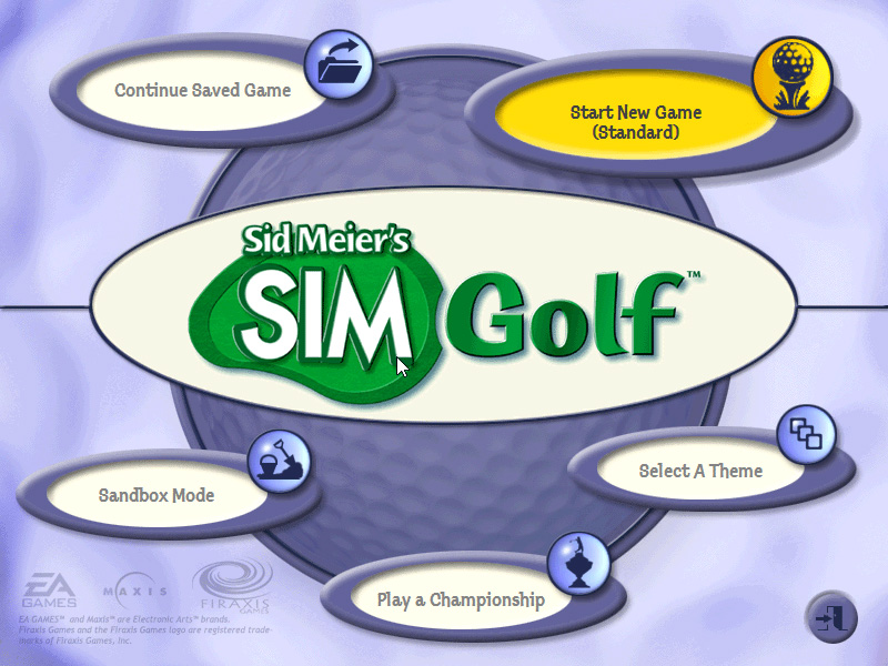 Sid Meier's Sim Golf   RavingLuhn
