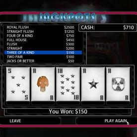 Want to try earning some currency? Try a poker machine.