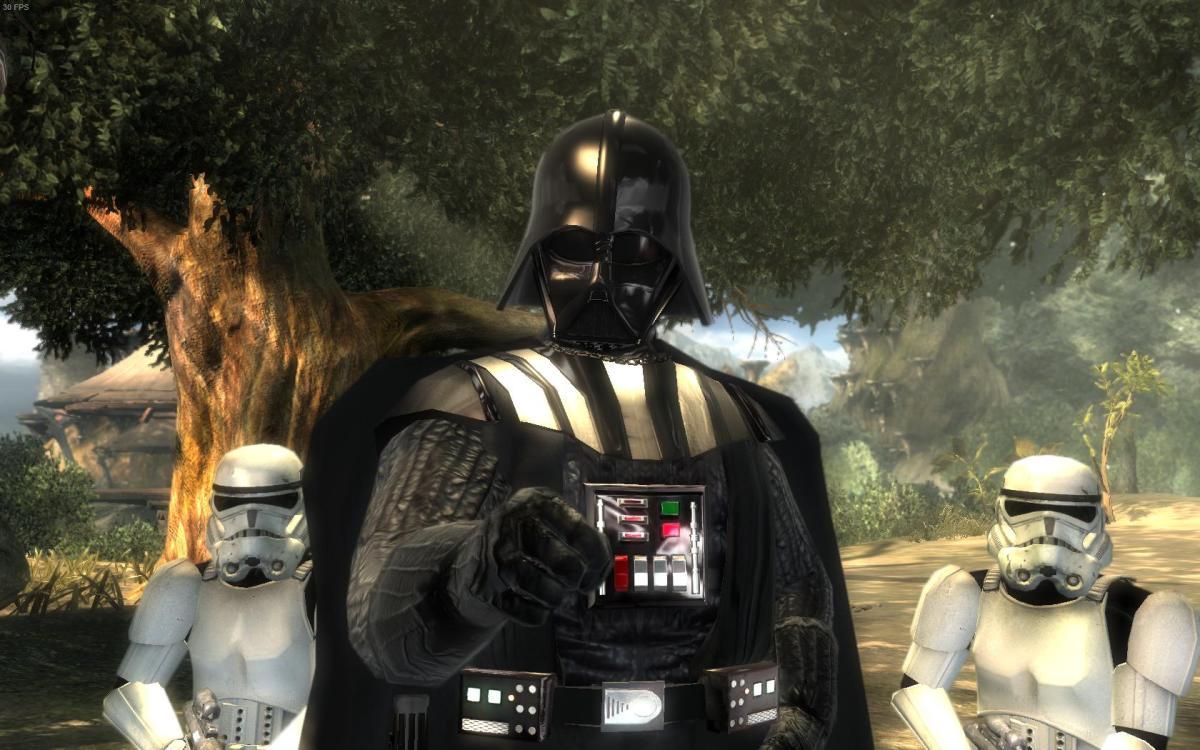Becoming Vader