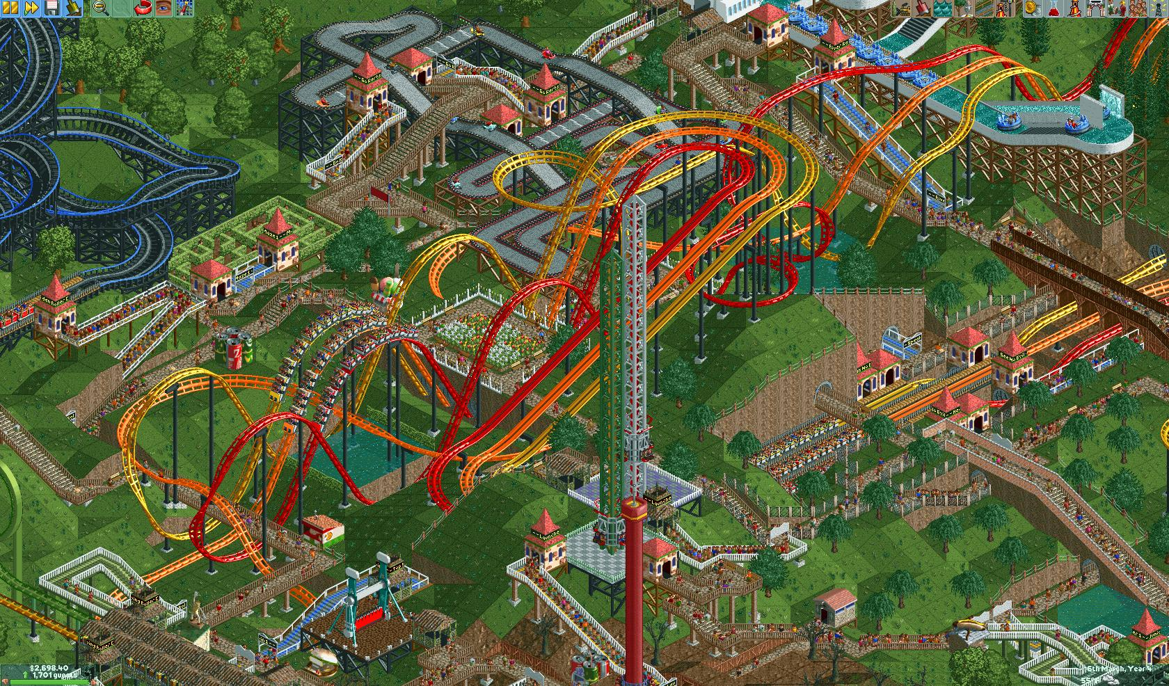 The Definitive RollerCoaster Tycoon Experience | RavingLuhn