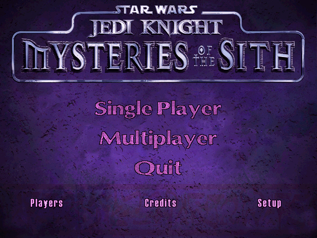 Jedi Knight: Mysteries of theSith